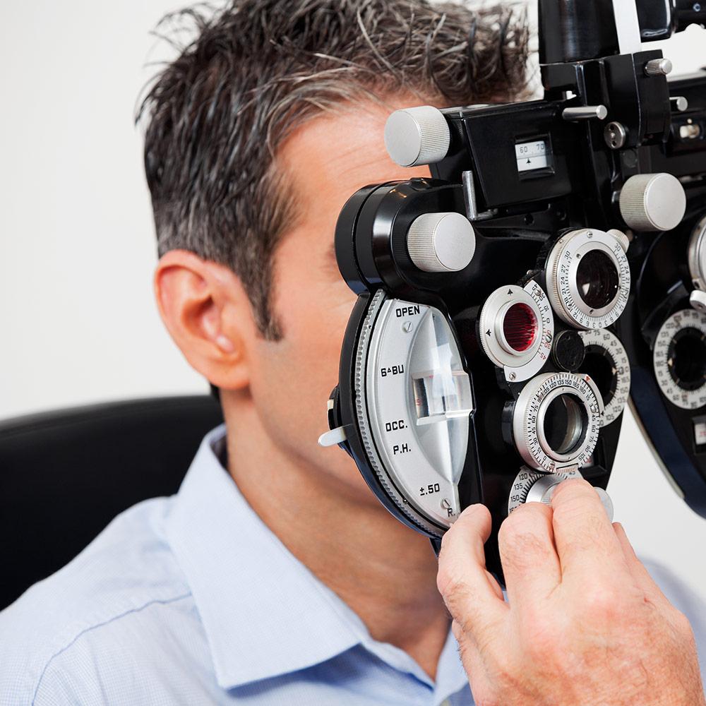 servizio optometria COA, Centro Ottici Associati