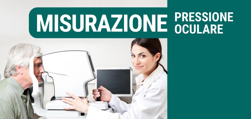 servizio misurazione pressione oculare COA, Centro Ottici Associati